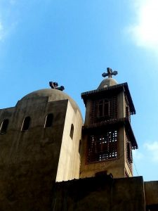 Church of the Blessed Virgin Mary St George and Abo Sefein, Zewaila