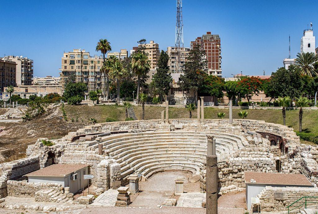 Roman Amphitheater of Alexandria