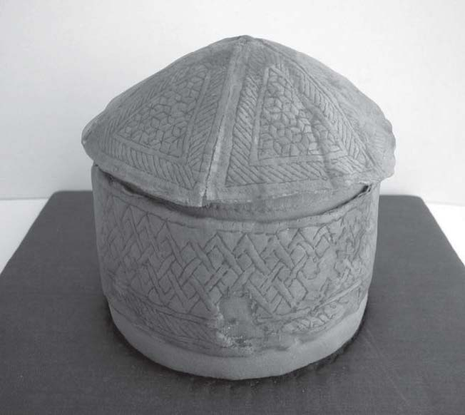 Fig. 6: Kilted cap from Mameluk times. © Stiftung Moritzburg, Halle, inv. T 129, Foto: Gabriele Schrade (FH Köln).