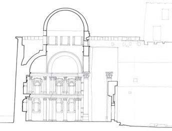 Fig. 3. Church of the Monastery of St. Bishoi, plan of triconch, Technische Hochschule Darmstadt, 1962.