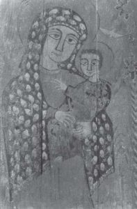 Icon of the Virgin Mary and Child. Achmim area provenance. Photograph courtesy of Gawdat Gabra..