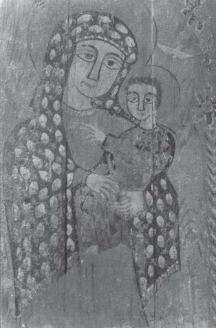 Icon of the Virgin Mary and Child. Achmim area provenance. Photo­graph courtesy of Gawdat Gabra..