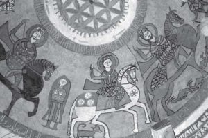 Wall painting, Dome of the Martyrs, Paul's Monastery.