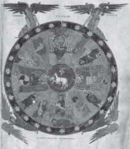 Illumination of the Revelation, Book of Beatus of Libana.
