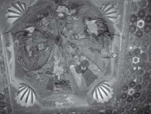 Painting of the Pantokrator, cibo- rium, Akhmim.