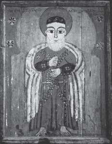 Painting of Thomas the Hermit, Akhmim.