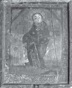 Painting of John the Baptist, the Monastery of the Syrians.