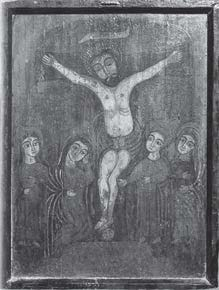 Painting of the Crucifixion, Father Abd al-Shahid.