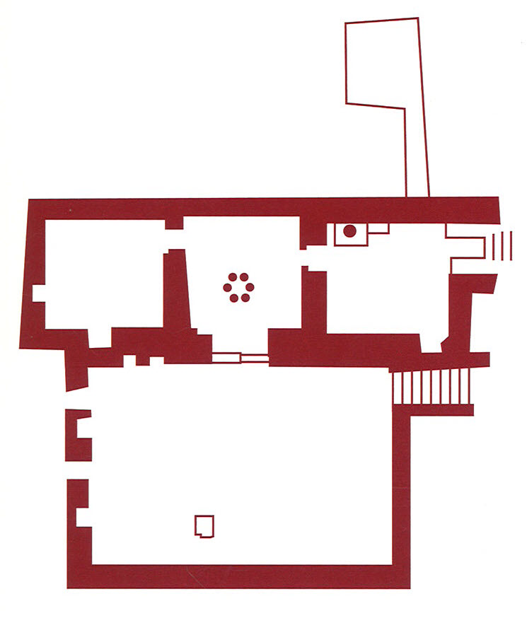Fig. 1. North church at Kellia