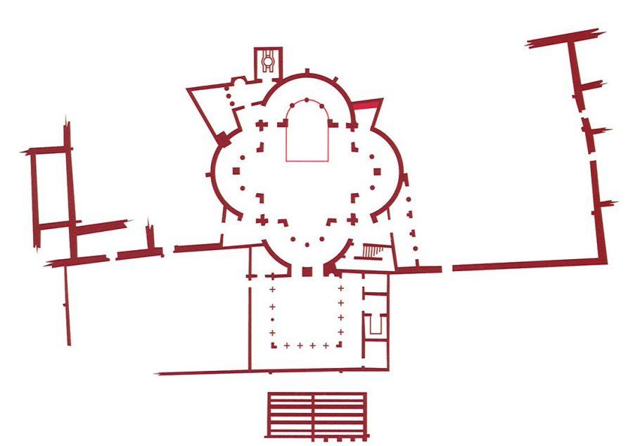 Fig. 9. Tetraconch Church at Abu Mina