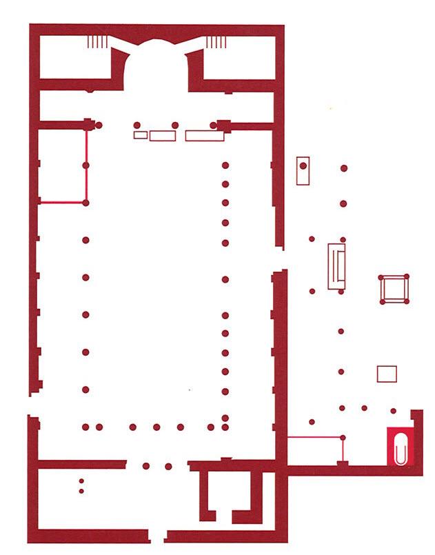 Fig. 11. Monastery of St. Jeremiah, Saqqara