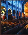 Catholic and Coptic altars showing the Coptic seating.