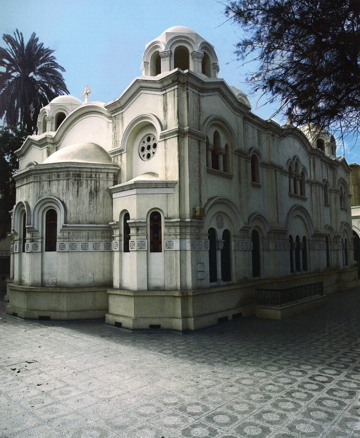 Exterior view of the church.