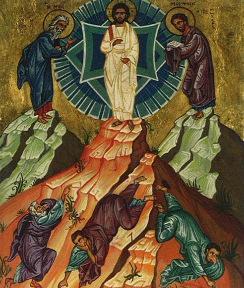 Icon of the Transfiguration.