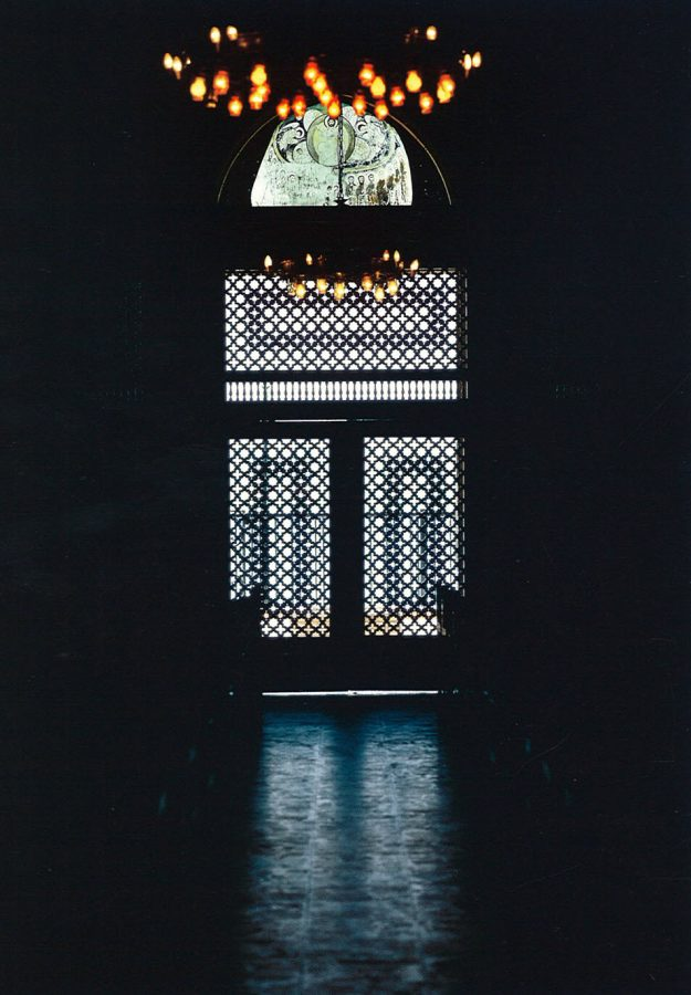 The Church of the Holy Virgin, Maadi: main entrance.
