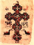 An illuminated liturgical manuscript.