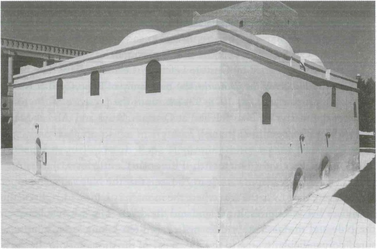 Fig. 8.3. Qusqam, the ancient Church of the Holy Virgin Mary, southwestern side. Photograph by Fr. Maximous al-Muharraqi.