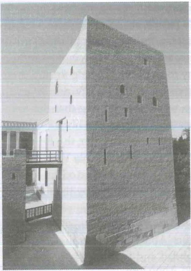 Fig. 8.4. Qusqam, the ancient keep. Photograph by Fr. Maximous al-Muharraqi.