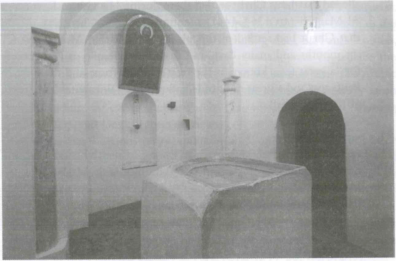 Fig. 8.6. Qusqam, the sanctuary of the ancient Church of the Holy Virgin Mary. Photograph by Fr. Maximous al-Muharraqi.