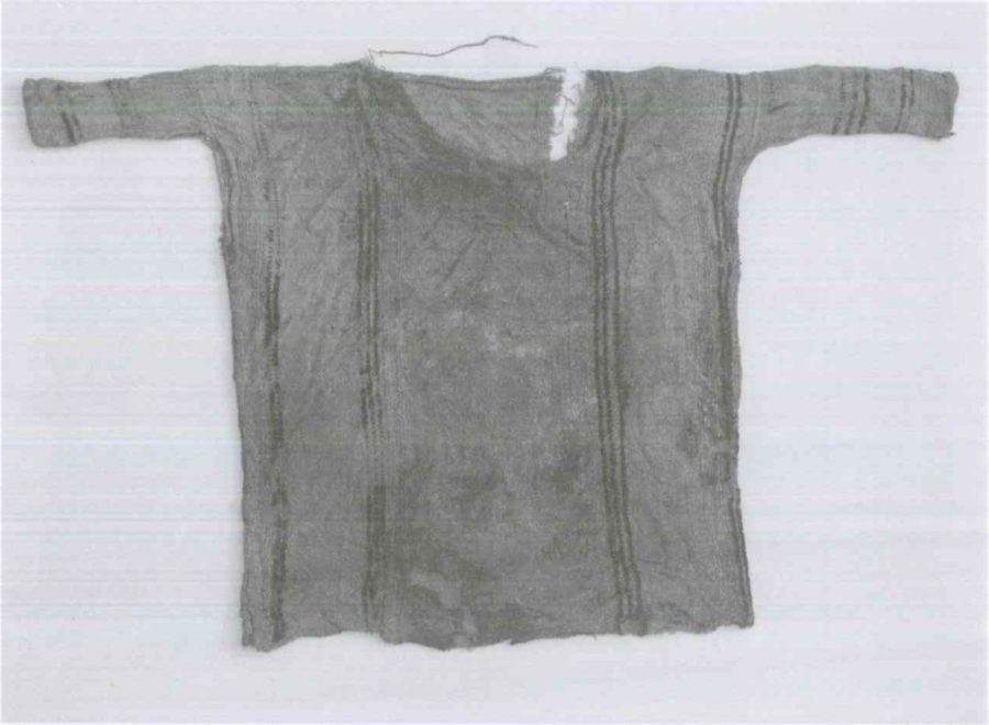 Fig. 20.4. Child's tunic with blue stripes. © Harald Froschauer.