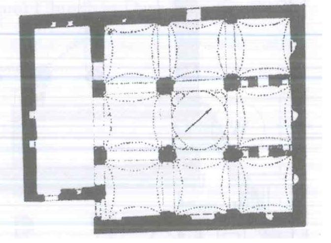 Fig. 28.6. St. Mary Church at Bani Adi, Manfalut (al-Suriani and Habib 2002: 164).