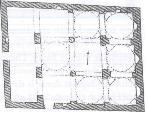 Fig. 28.8. Dayr Mar Mina near Sanabu (al-Suriani and Habib 1990: 109).