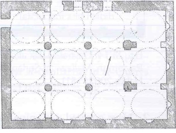 Fig. 28.10. Anba Athanasius Church, al-Qufur, MataT (al-Suriani and Habib 1990: 133)