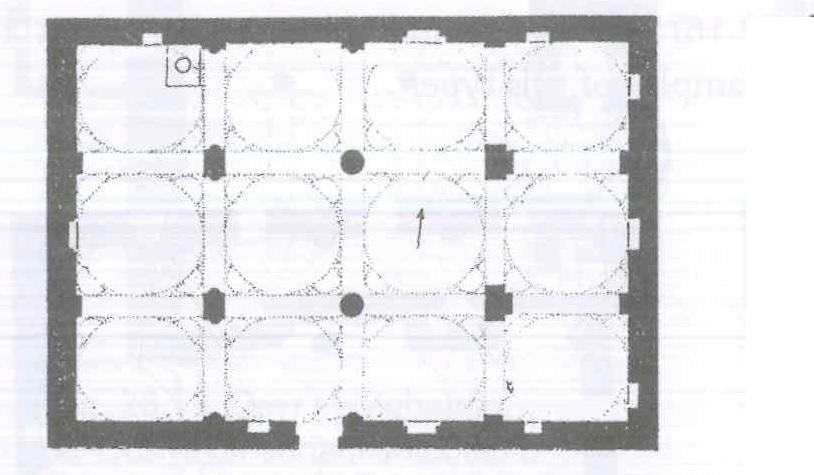 Fig. 28.11. Anba Pigul Church, Tallah (al-Suriani and Habib 1990: 126).