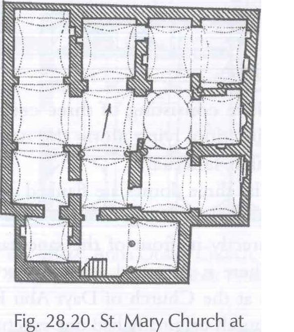 Fig. 28.20 St. Mary Chirch at Delga, Dayr Muwas (al-Suriani and Habib 1990: 113).