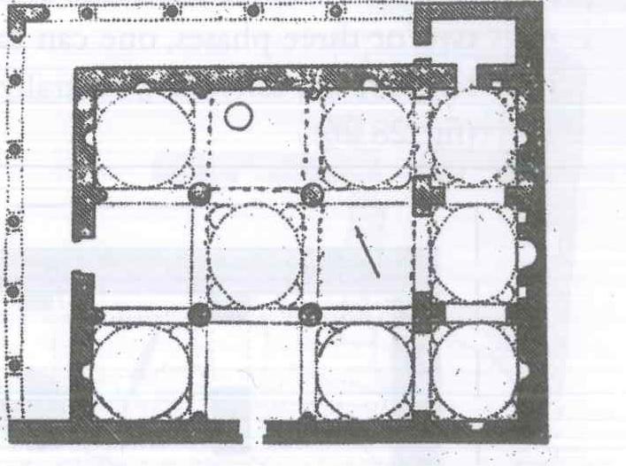 Fig. 28.24. Anba Qustur Church, Bardanuha, MataT (al-Suriani and Habib 1990: 134).