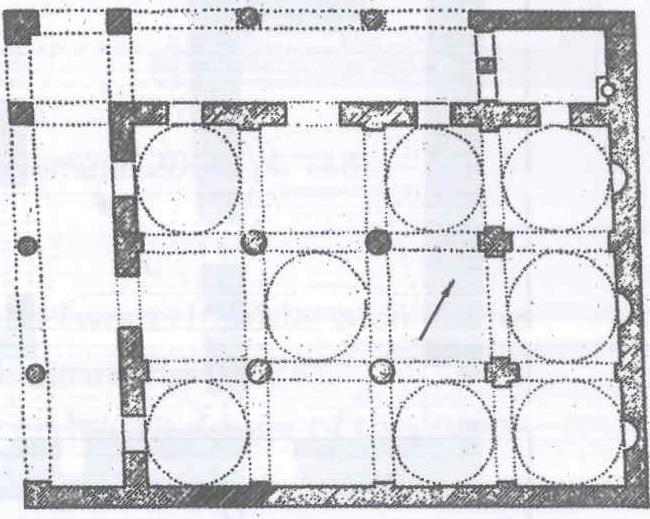 Fig. 28.25. Mar Boctor Church, Musha (al-Suriani and Habib 1990: 91).