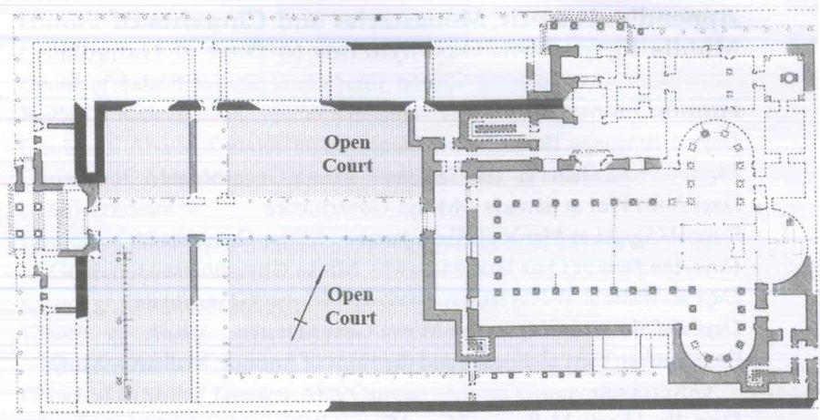 Fig. 28.32. The Great Basilica, Hermopolis Magna (al-Ashmunayn). Redrawn by author from Grossmann 2002: pl. 59.